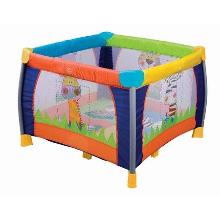 Delta Childrens Fun Time Play Yard  Multi Color