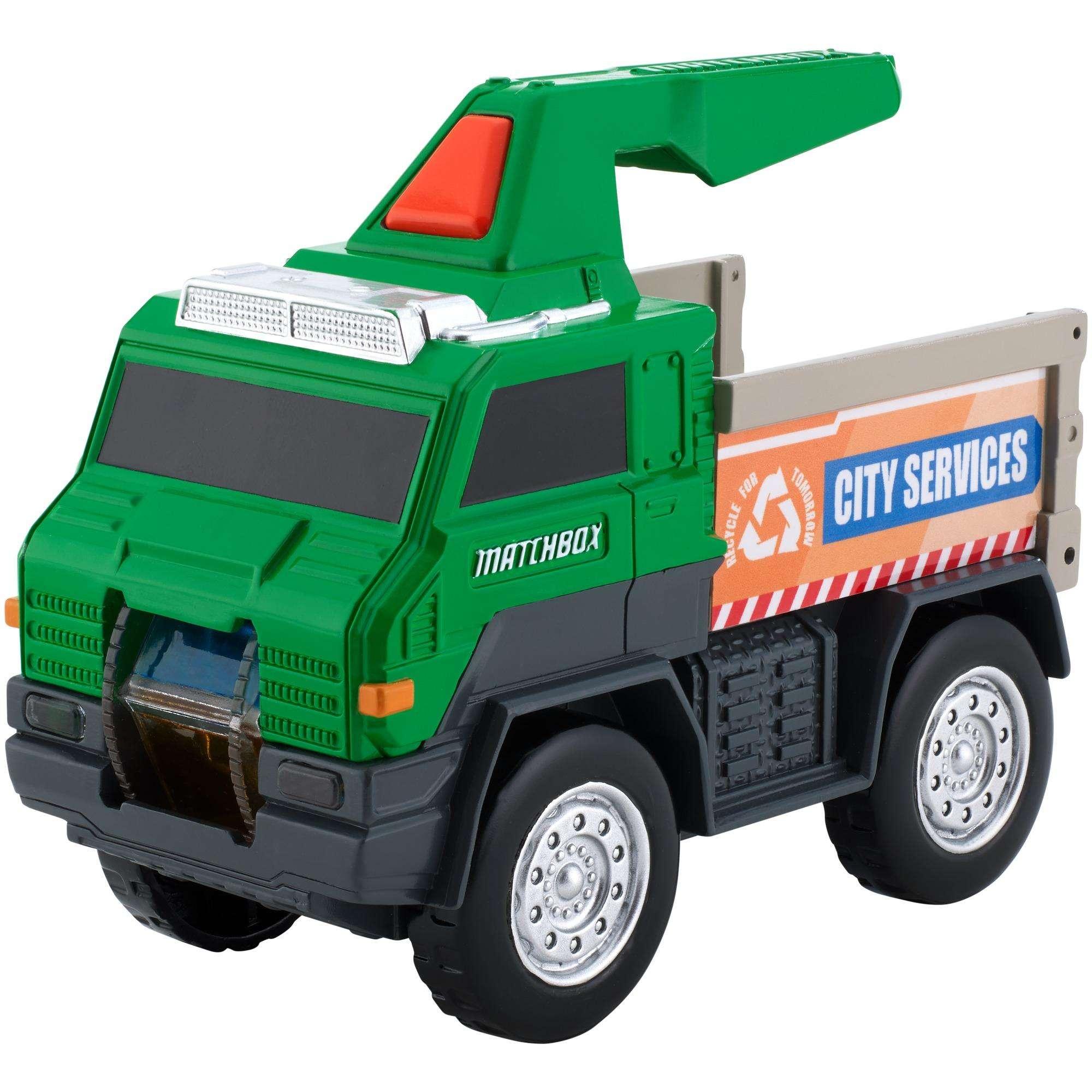 Mattel Matchbox Utility Truck Flashlight