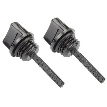 - HIPA Oil Dipstick For Honda GX110 GX120 GX140 GX160 GX200 Engine Generator Lawnmower Water Pump  Go Kart Mini Oil Dipstick (2 PACK)