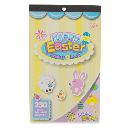 Happy Easter 230 Sticker Book
