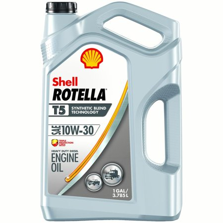 Shell rotella t5 10w 30 diesel engine oil 1 gal for How to get motor oil out of jeans