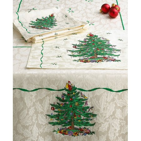 - Christmas Tree - Cloth Placemats Set Of 4Placemats By Spode