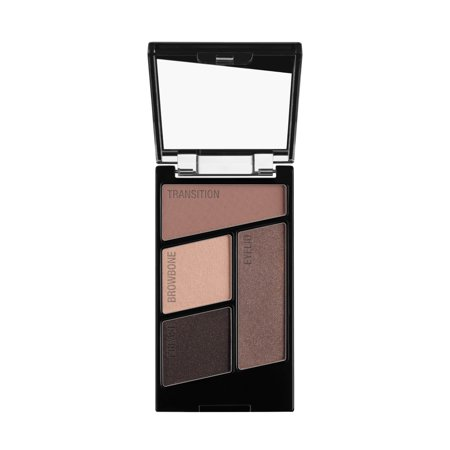 (2 Pack) wet n wild Color Icon Eyeshadow Quad, Silent