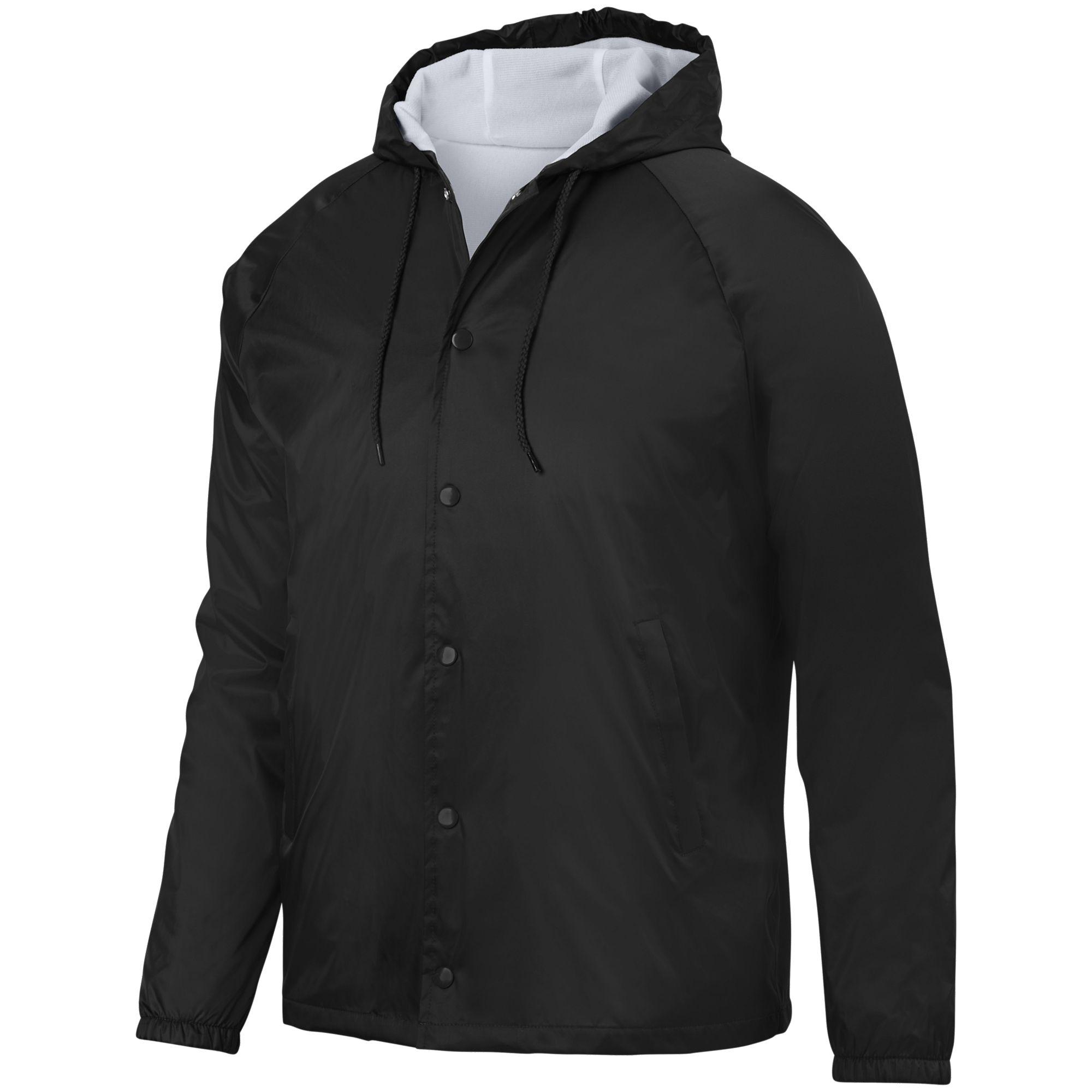 Augusta Sportswear Men's Hooded Coach's Jacket 3102