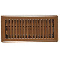 Imperial RG2000 Floor Register, 2-1/4 in H x 12 in W, Steel, Brown