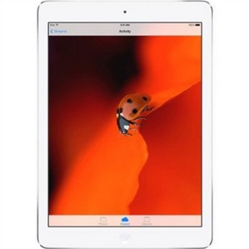 Certified Refurbished Apple iPad Air MD789LL/A (32GB, Wi-Fi, White with Silver