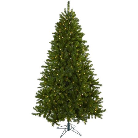 Nearly Natural 7-1/2' Windermere Christmas Tree with Clear Lights