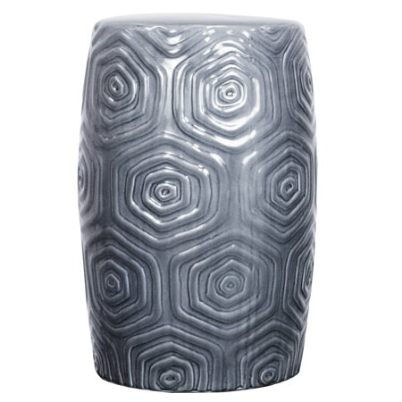Swell Npd Daze Ceramic Garden Stool Gray Inzonedesignstudio Interior Chair Design Inzonedesignstudiocom