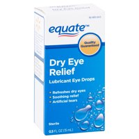 Equate Lubricant Eye Drops for Dry Eye Relief, 0.5 fl oz