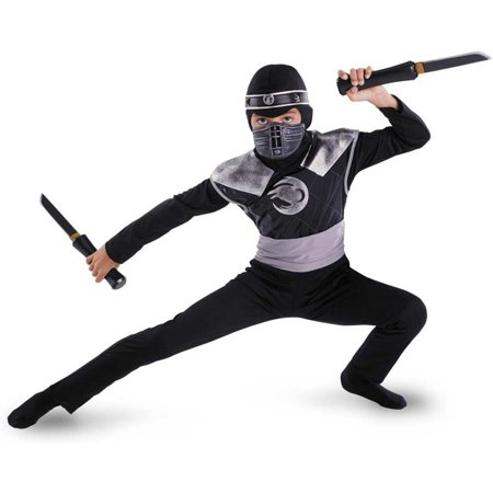 Dark Raven Ninja Kids Costume