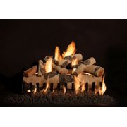 "30"" Quaking Aspen See-Thru Gas 8 Piece Log Set"
