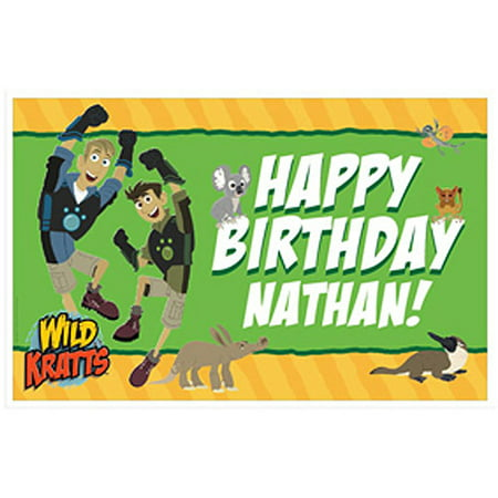 - Personalized Wild Kratts Birthday Adventure Placemat