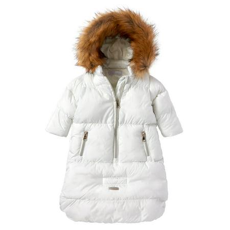 f7ca7f664 Cremson - Cremson Girls Boys Newborn Infant Baby Puffer Carbag Pram Bag  Snowsuit Bunting - Walmart.com