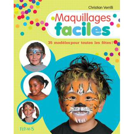 Maquillages faciles - eBook - Maquillage Halloween Fille