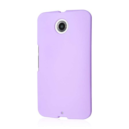 Nexus 6 Case  Mpero Snapz Series Rubberized Case For Google Nexus 6   Radiant Orchid