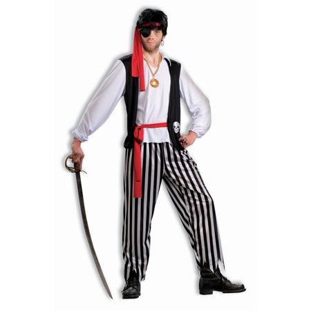 Halloween Pirate Matey Adult Costume (Pirate Adult Costume)