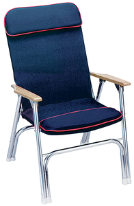 Seachoice Canvas Folding Chair, Blue by Seachoice