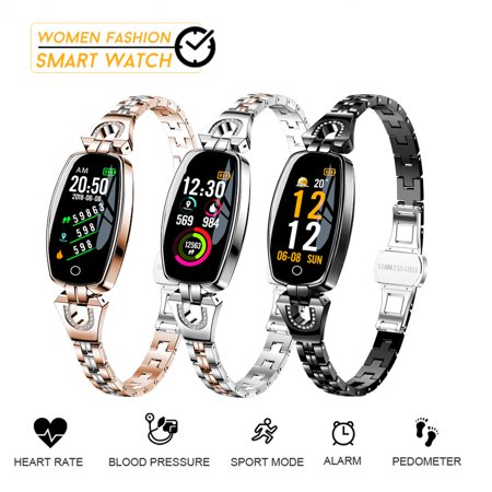 Women Fashion Waterproof bluetooth Smart Watches Bracelet Watch Lady Smartwrist Gifts for Android&iOS (Tweety Bird Watch For Women)
