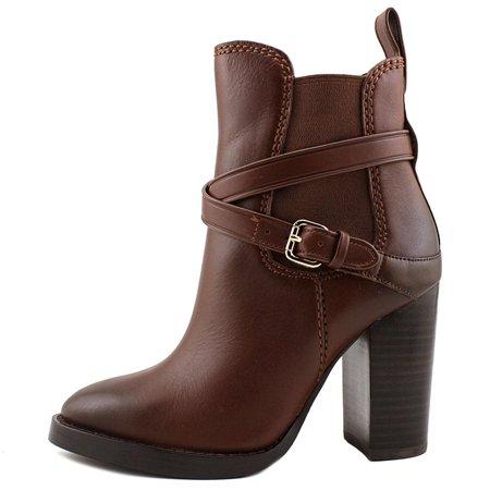 Coach Womens Jackson Leather Closed Toe Ankle Fashion Boots