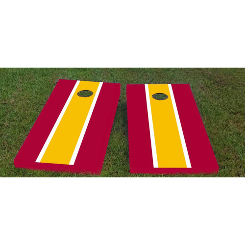 Custom Cornhole Boards Redskins Cornhole Game (Set of 2) by Custom Cornhole Boards