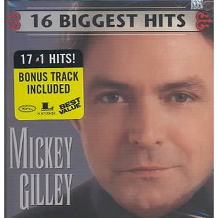 Mickey Gilley, 16 Biggest Hits, (CD) (Music Quiz Answers Top Hits Level 16)