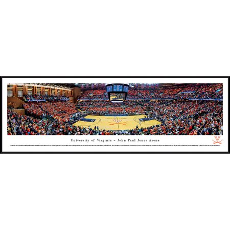 Virginia Cavaliers Basketball at John Paul Jones Arena - Blakeway Panoramas NCAA College Print with Standard Frame