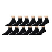 12 Pairs of Mens Athletic Sport Ankle Socks by Wholesale Sock Deals