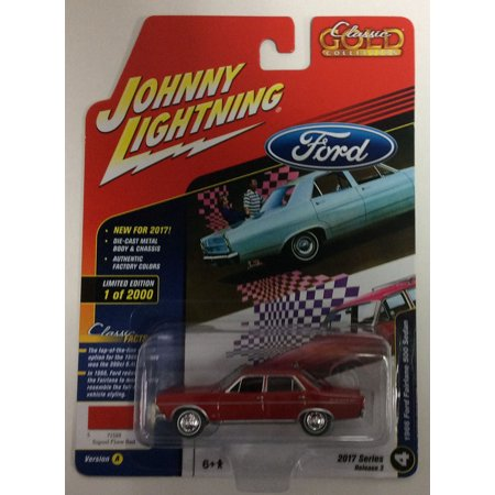 Johnny Lightning JLCG007 Classic Gold Version A 1966 Ford Fairlane 500