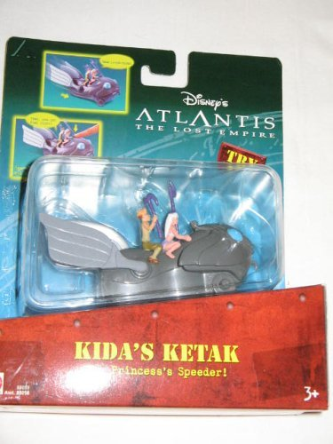 Kida's Ketak from Atlantis Lost Empire Accessories Action Figure By Mattel by