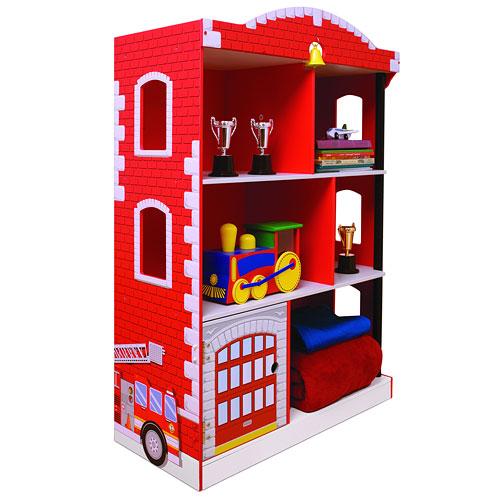 KidKraft - Firehouse Bookcase