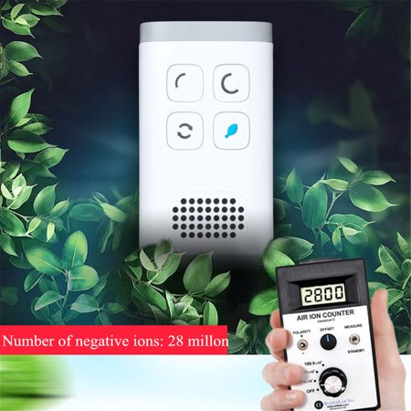 ASEWUN 120mg/h Plug-In AirPurifier AirCleaner Mini Ozone Generator Negative Ion Generator for Odors Eliminating Travelling Outdoor Room Pets - image 8 de 9