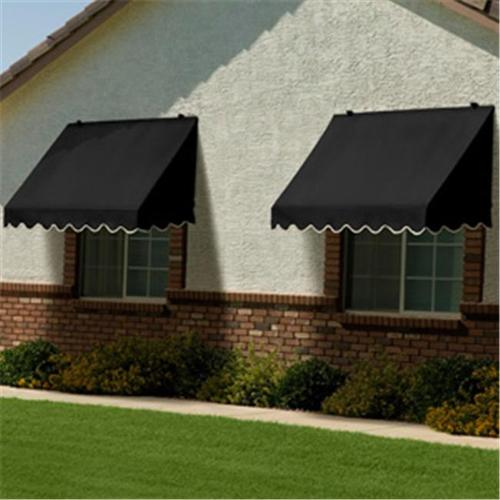Traditional Awning in Black