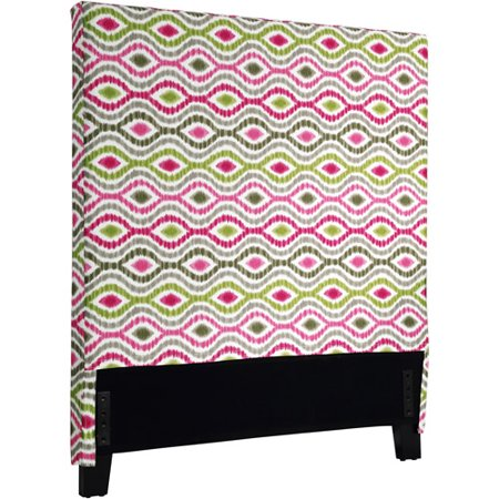 Waverly Headboard Cover, Optical Delights, Multi-Color, Twin