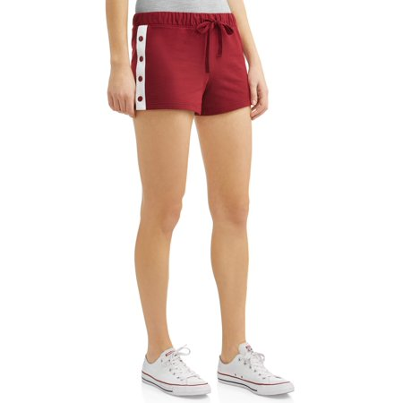 Juniors' Colorblock Side Snap Varsity Short