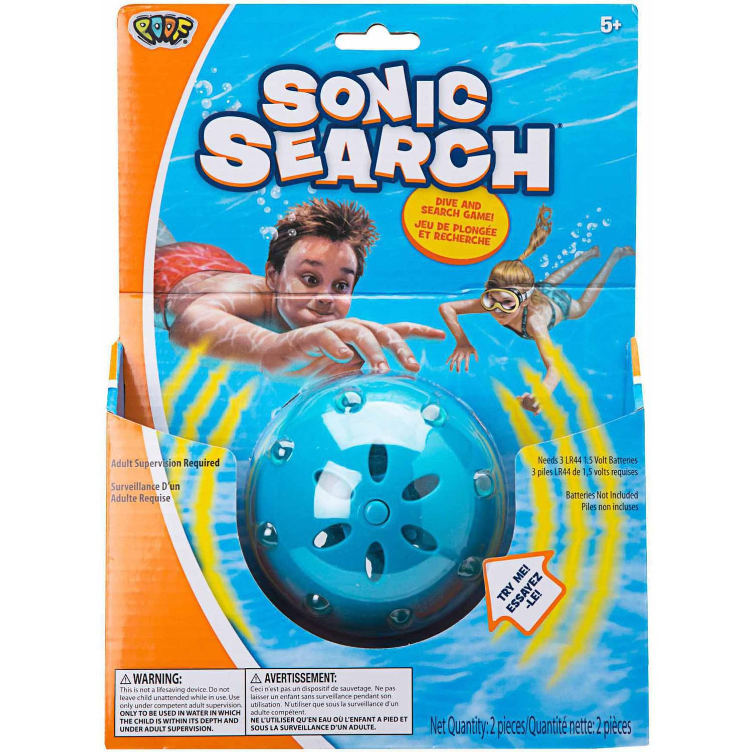 POOF Sonic Search Game
