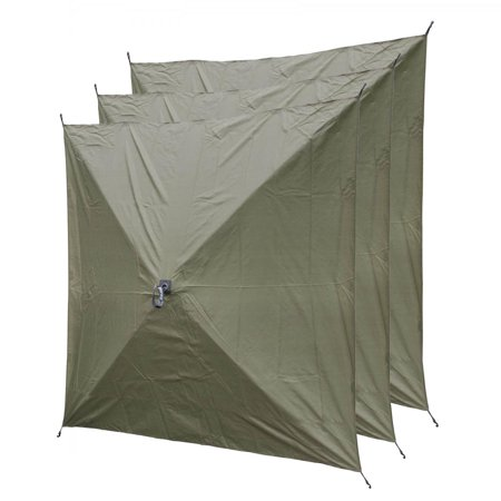 3-Pack Screen Hub Wind Panels - (Hub Shelter)