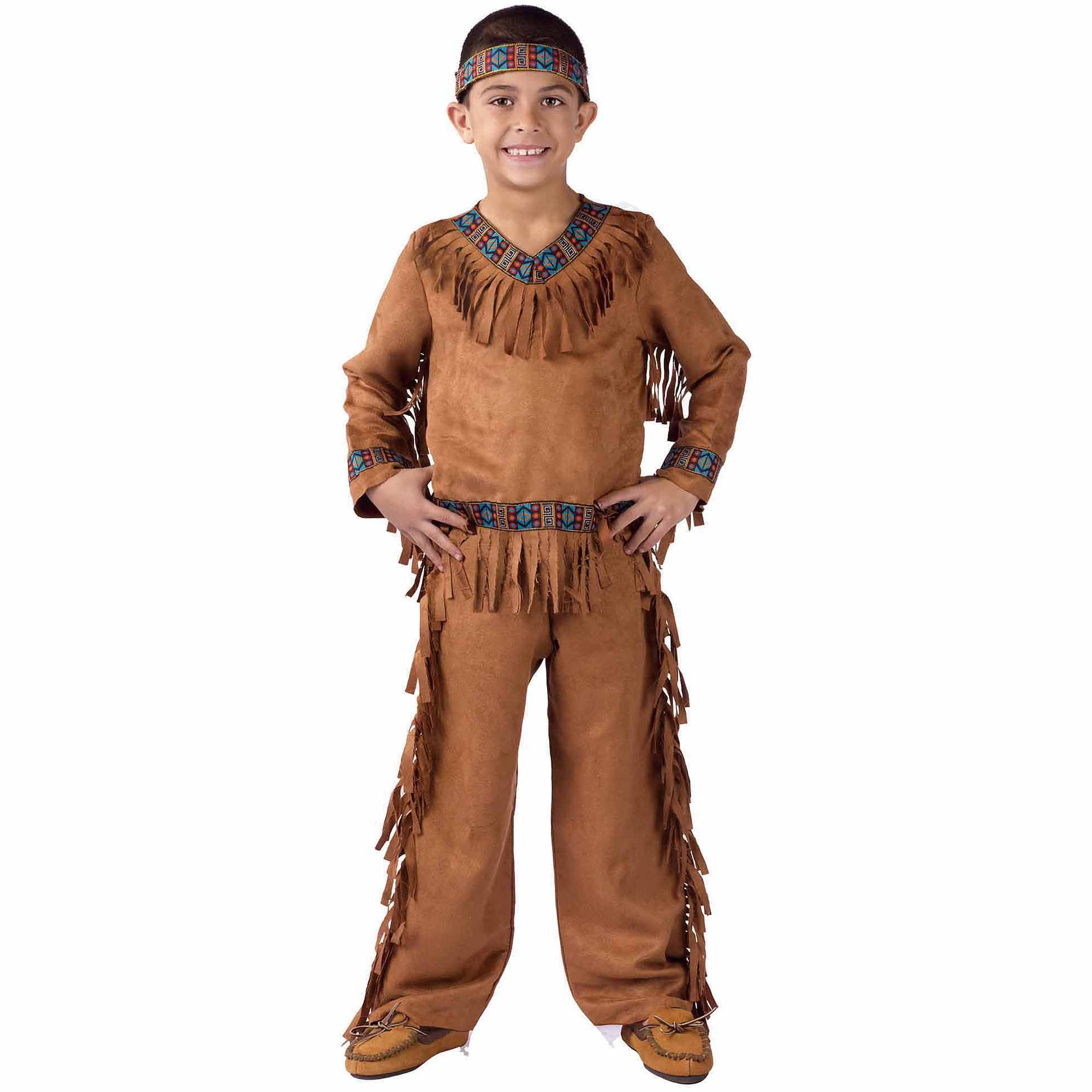 sc 1 st  Walmart & Native American Boy Child Halloween Costume - Walmart.com