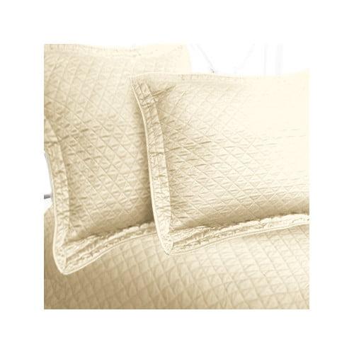 Textiles Plus Inc. Luxury Cotton Sateen Diamond Coverlet Collection