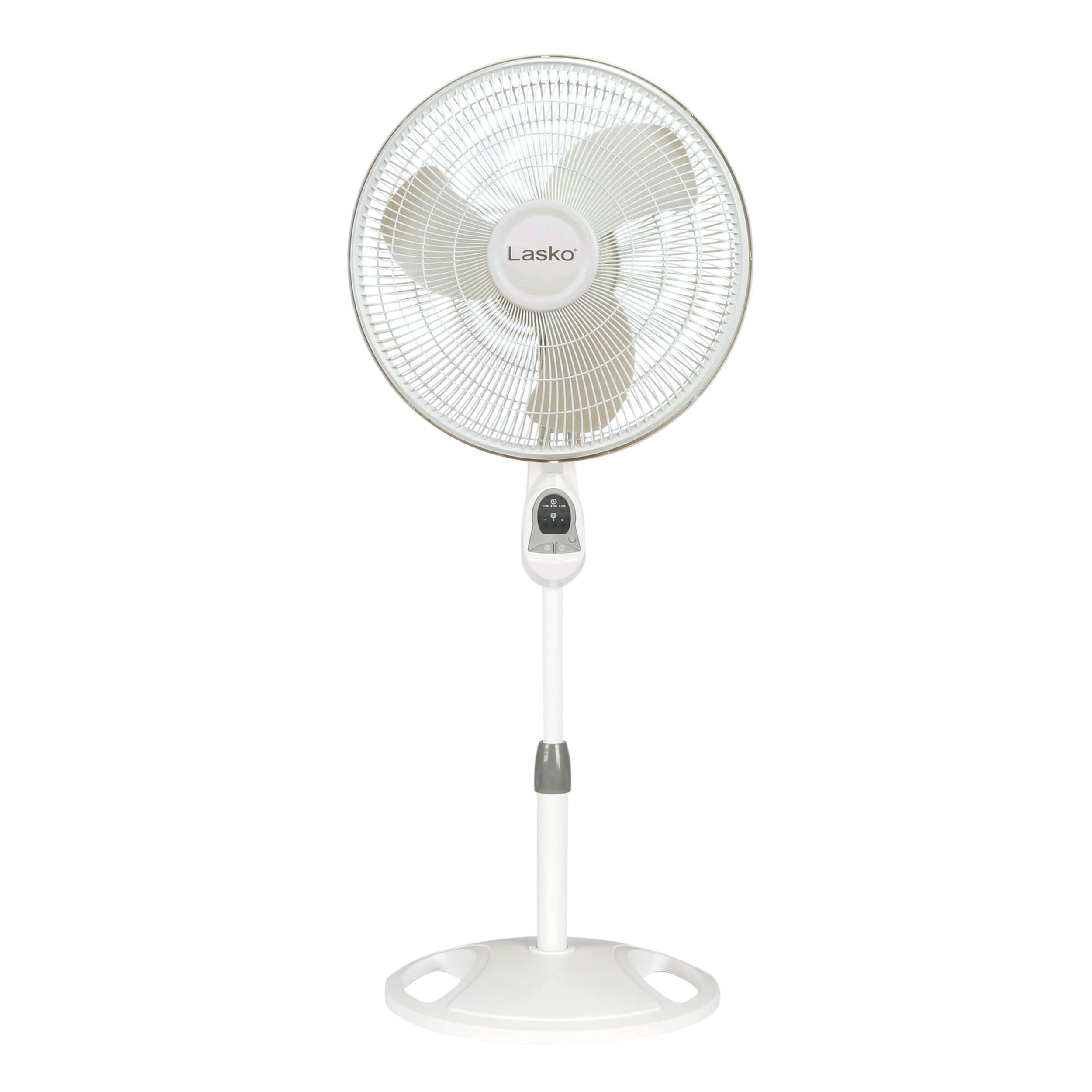 Lasko 2520 16/″ Oscillating Stand Fan Tilt-Back Fan Head Features Adjustable Height Oscillating Movement