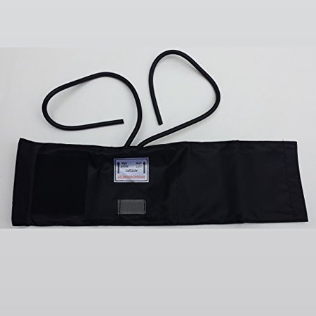 Brand Adult Blood Pressure Velcro Cuff With 2 Tube Bladder Inflation Bag ()