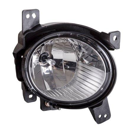 TYC 19-6023-00-1 Right Fog Light for 10-12 Hyundai Santa Fe