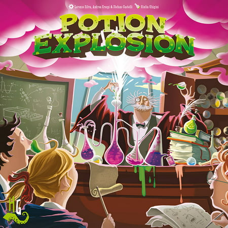Cool Mini or Not Potion Explosion Board Game - Halloween Potion Games Online