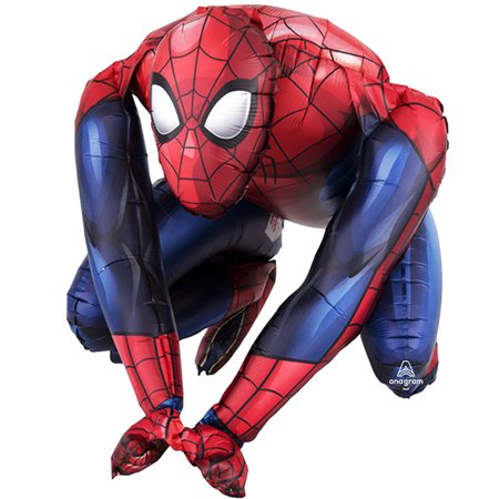 Sitting Spiderman Multi - Balloon Inflate with Air 15