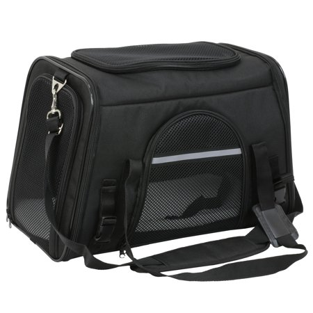 Pet Airline Approved Pet Carriers,Comes with Fleece Pads Soft Sided Pet Carrier for Dog & Cat Dog Pet Carrier Teacup
