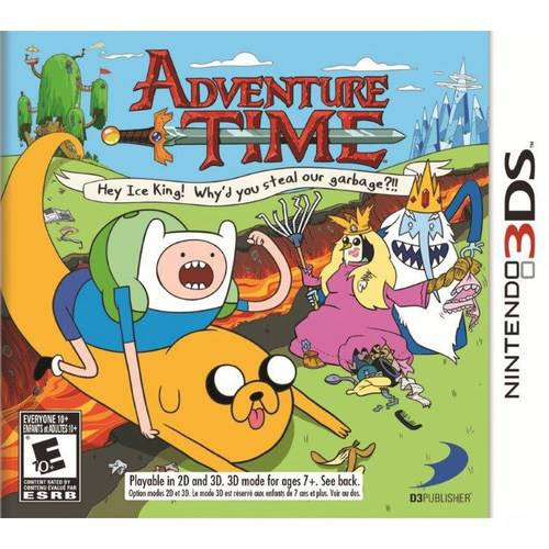 Adventure Time Hey Ice King! (Nintendo 3DS) - Pre-Owned