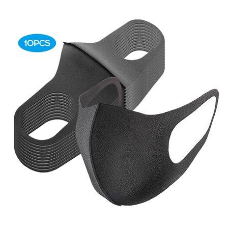10PCS Protective Mask, Washable Reusable Face Mask - image 1 of 6