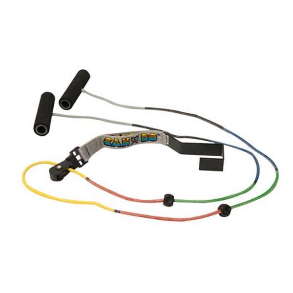 CanDo Visualizer color-coded overdoor shoulder exerciser, dual pulley w/door bracket, 25ea