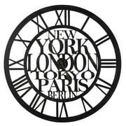 Cooper Classics Taban Wall Clock - 35.75 diam. in.