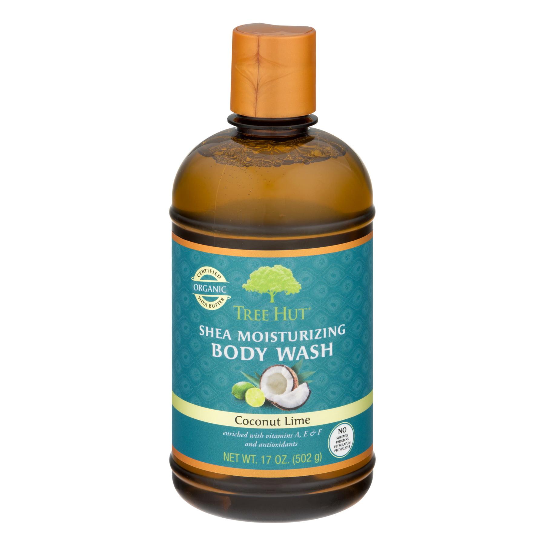 Tree Hut Coconut Lime Shea Moisturizing Body Wash, 17 oz