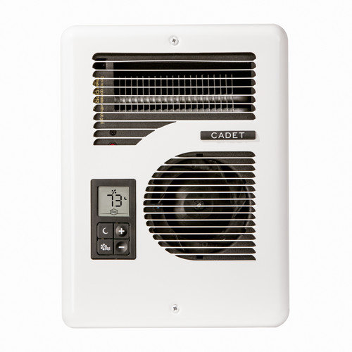 Cadet Com-Pak Series Energy Plus Multi-Watt 120/240-Volt Electric Fan Wall Heater